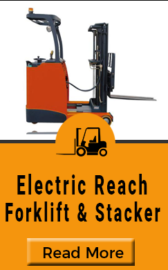 Electric Reach Forklift & Stacker
