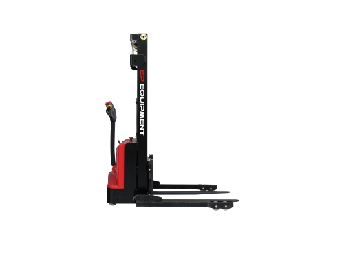 EP ES12-25DM 1.2 Tonne Electric Walkie Stacker Left