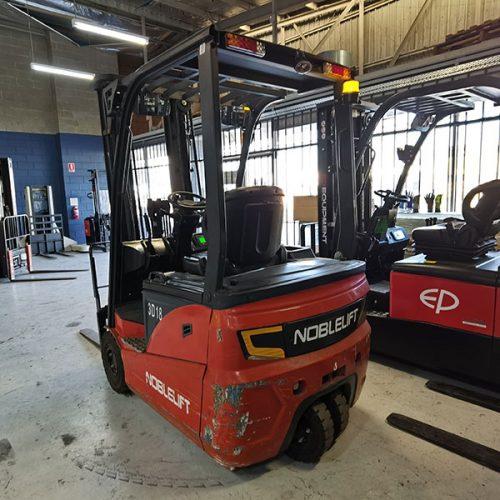 Noblelift 3 wheel 1.8t 4.8m electric forklift